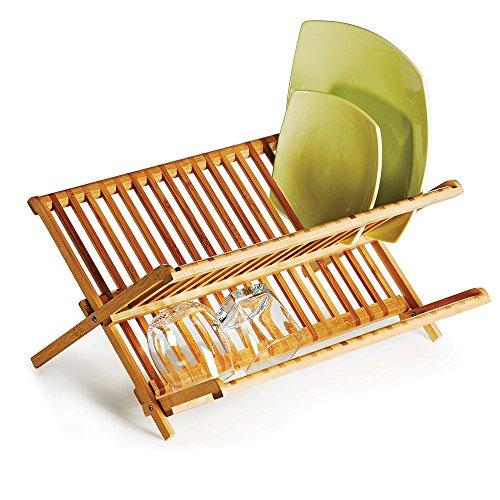 Escorredor De Pratos Em Bambu Quioto Welf