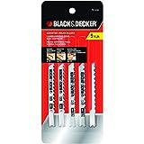 Black & Decker 75-530 Jig Saw Blades (5 Pack)
