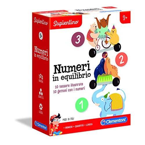 Clementoni-16141-Sapientino-Numeri, Gioco educativo, Multicolore, 16141