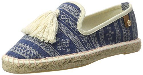 Tamaris Damen 24606 Slipper, Blau (Denim Comb 853), 40 EU