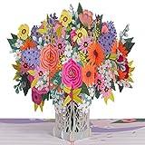 Paper Love Floral Arrangement Pop Up Card,...