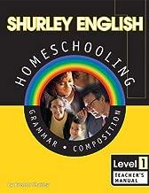 Shurley English: Grammar and Composition, Level 1, Teacher's Manual - Book
