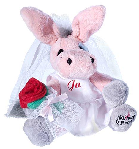 Heunec 681576 - My Little Murphy, Die Perfekte Braut, Plüschtier, Rosa
