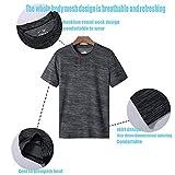 Zoom IMG-2 maglia compressione da uomo a