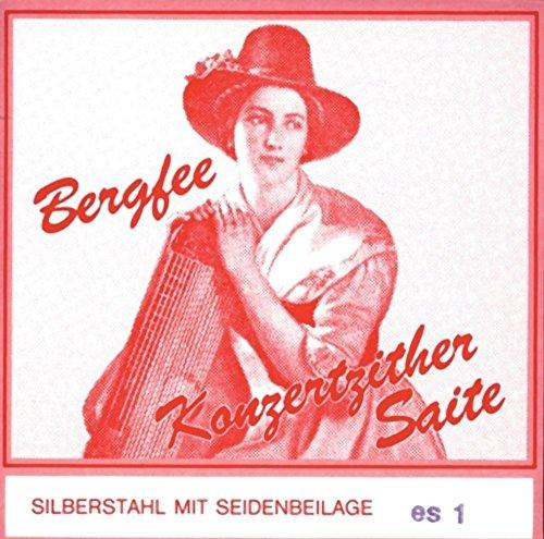 Optima 1220/04 KonzertzitherBergfee Stahl Rot, Begleit Münchner/Wiener - C4