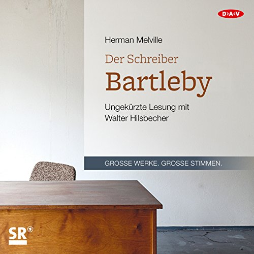 Der Schreiber Bartleby                   By:                                                                                                                                 Herman Melville                               Narrated by:                                                                                                                                 Walter Hilsbecher                      Length: 1 hr and 45 mins     Not rated yet     Overall 0.0