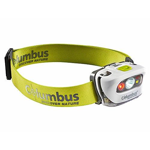 COLUMBUS CF2 Lámpara Frontal, Unisex Adulto, Blanco, Talla Única