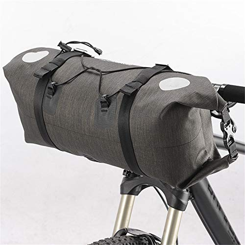 Buy Discount Cigkany-SP Bike Handlebar Bag Waterproof 14L Handlebar Storage Bikes Bag Pannier with R...