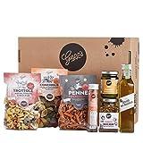 Gepp's Feinkost Pasta Paket Single | Grundpaket mit leckeren italienischen Delikatessen, hergestellt nach eigener Rezeptur | Als Geschenk für echte Pastafreunde oder für den eigenen Vorrat (100420)