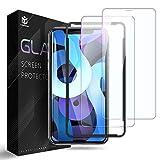 Xingmeng [2枚入り]iPhone 12 mini ガラスフィルム 5.4 インチ 用 強化 保護 ガラス フィルム 飛散防止 指紋防止 気泡防止 撥水撥油 旭硝子9H 高透明率 2.5Dラウンドエッジ 貼付道具付