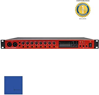 Focusrite Clarett OctoPre 8 Channel Mic Pre and AD/DA Converter with 1 Year Free Extended Warranty