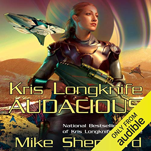 Audacious Audiobook By Mike Shepherd cover art