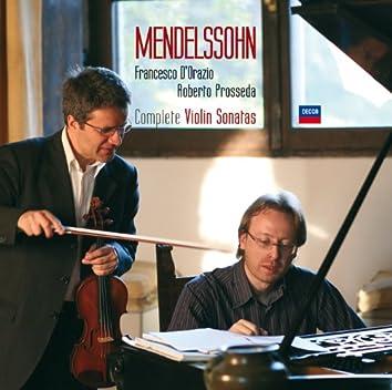 Mendelssohn: Complete Violin Sonatas