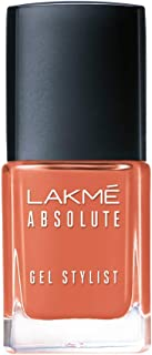 Lakmé Absolute Gel Stylist Nail Color, Beige Nude, 12 ml
