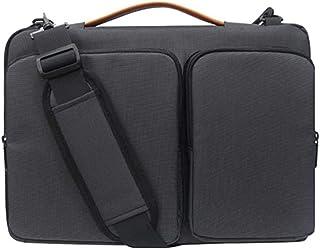 Bolsa Case Capa Sleeve Macbook Notebook Até 15.6 Polegadas Com 2 Bolsos Frontais - Preta