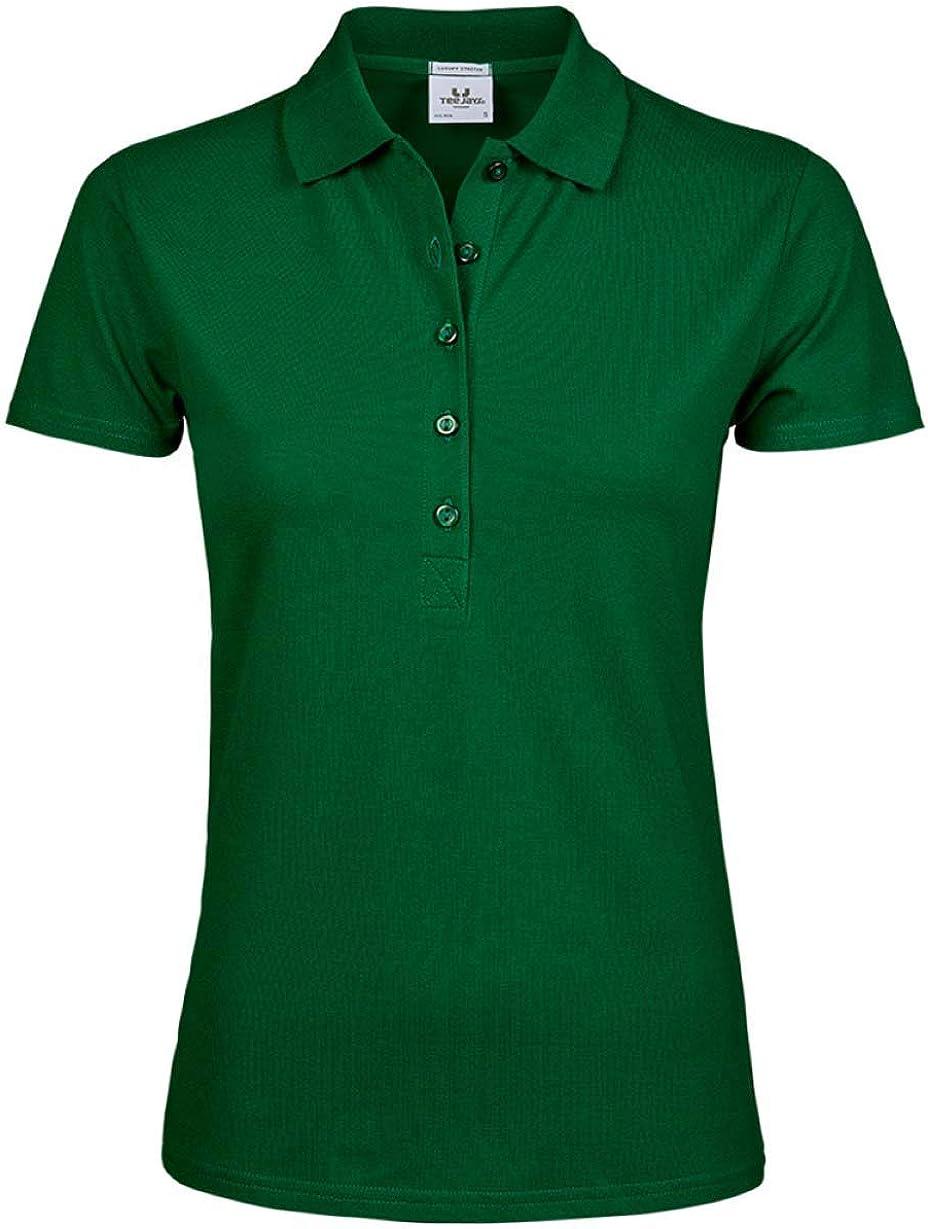 Tee Jays Womens Luxury Stretch Polo Shirt