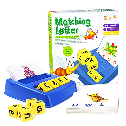 (40% OFF Coupon) Matching Letter Game For Kids $9.59