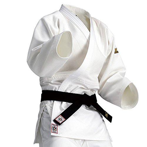 Mizuno Judogi Yusho - Kimono de judo - 5A5101 IJF 2015, color blanco, tamaño 190