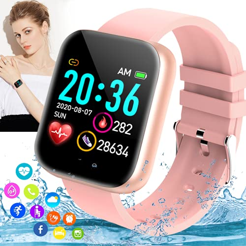 Burxoe Smart Watch,Bluetooth Smartwatch...