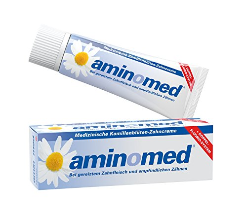 Aminomed Fluorid-Kamillen-Zahncreme,  1er Pack (1 x 75 ml)