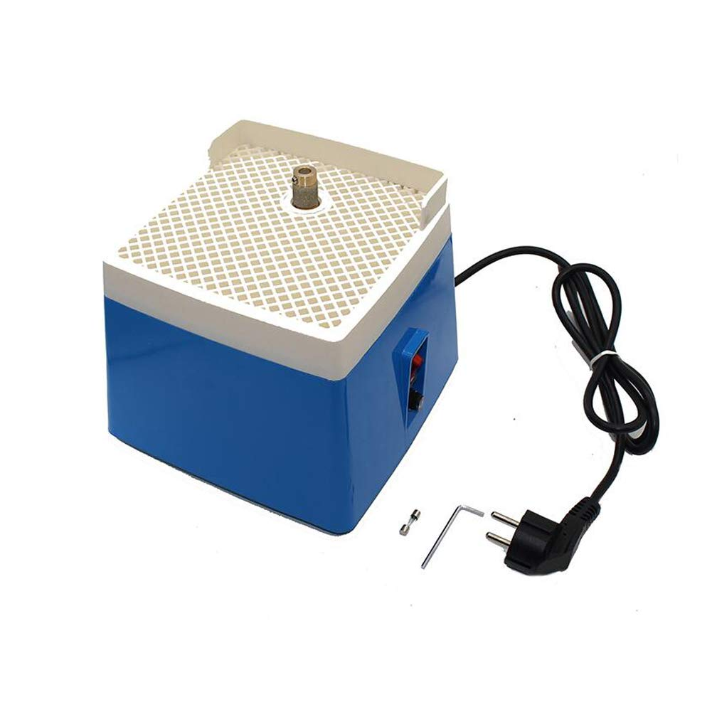 220V AC Mini Portable Stained Glass Grinder EU Plug Automatic Art Grinding Tool