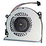 Replacement CPU Cooling Fan for Pavilion 15-U 13-A010DX X360 Envy 15-u100ng 15-u499nr 15-u110dx 15-U011DX 15-U111DX 15-U005TX 15-u 15-U011D 15-u010dx 776213-001 DFS501105PR0T