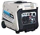 Pulsar 4,000W Portable Gas-Powered Quiet Inverter Generator with...