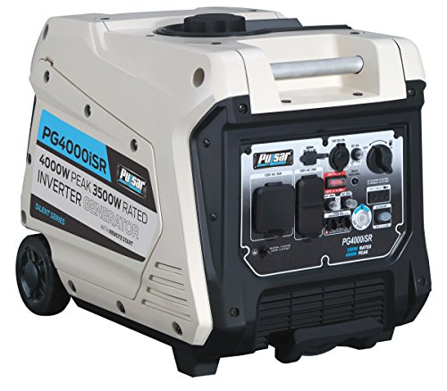 Pulsar 4,000W Portable Gas-Powered Quiet Inverter Generator Review