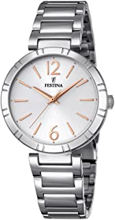 Festina Casual Watch for Men, Stainless Steel, F16936/1