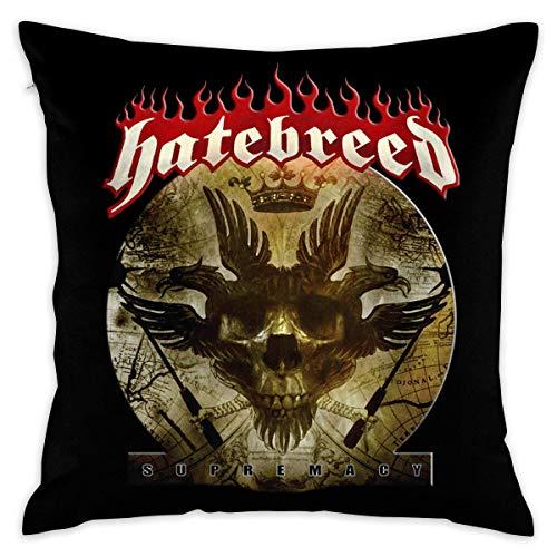 NoNo Hatebreed Supermacy Decorative Reading Pillow Covers Case Pillowcases Kissenbezüge (50cmx50cm)