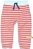 loud + proud Unisex Baby Hose Ringel, aus Bio Baumwolle, GOTS zertiziziert, Rot (Cayenne Cay), 68 (Herstellergröße: 62/68)