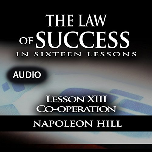 The Law of Success, Lesson XIII: Cooperation cover art