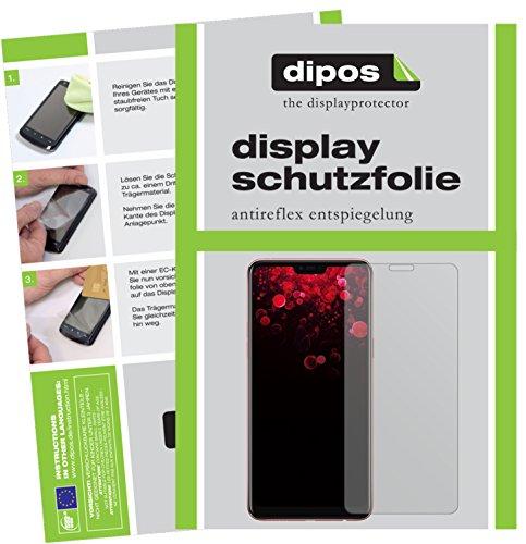 dipos I 6X Schutzfolie matt kompatibel mit Oppo F7 Youth Folie Bildschirmschutzfolie