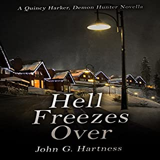 Hell Freezes Over audiobook cover art