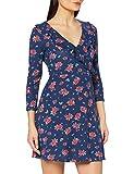 Springfield Corto AOP Flores Vo-c/18 Vestido, Azul (Light_Blue 18), XL (Tamaño del Fabricante: XL) para Mujer
