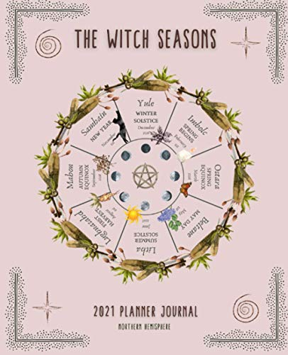 The Witch Seasons: 2021 Planner Journal, Northern Hemisphere
