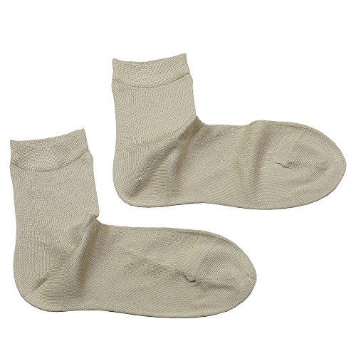 Women's Mulberry Silk Crew Socks Ankle Socks Four Seasons (White) -  WSLIFE