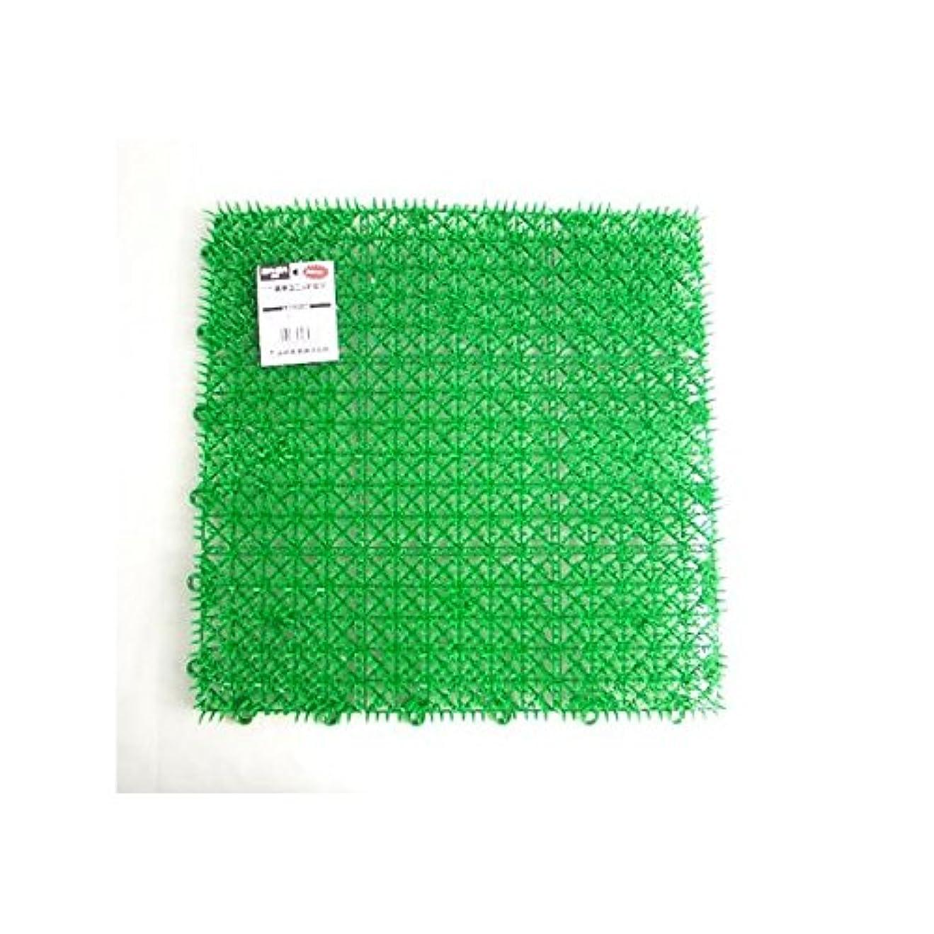 ストライプパーク一般的な人工芝 若草ユニット E-V 1帖用 グリーン 18枚セット