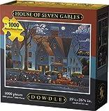 D·O·W·D·L·E Dowdle Jigsaw Puzzle - House of Seven Gables - 1000 Piece