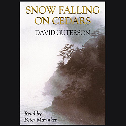 Snow Falling on Cedars audiobook cover art