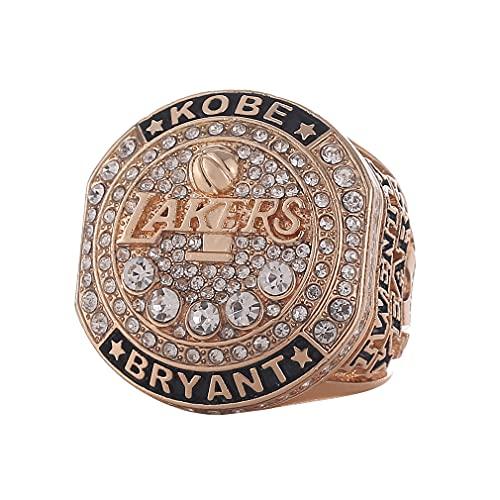 WSTYY 2016 NBA Lakers Kobe Memorial Ring 20th Anniversary Retired Championship Ring Anillos de Campeonato Personalizado para Fanáticos Día de San Valentín,with Box,11#