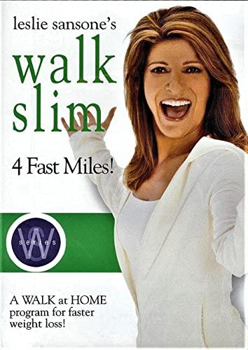 Leslie Sansone s Walk Slim 4 Fast Miles a Walk At Home Program for Faster Weight Loss product image