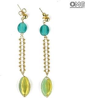 Lily Earrings - Antica Murrina Collection - Original Murano Glass OMG