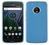 Funda Lenovo Moto G5 Plus, Yayago Funda Carcasa TPU para Lenovo Motorola Moto G5 Plus Silicona Azul