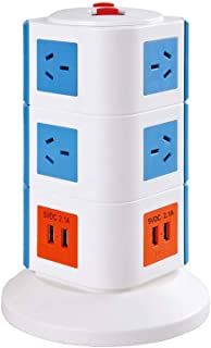 Safemore VPS Original Power Stackr 3 Level with 10 Power Outlets & 4 USB -