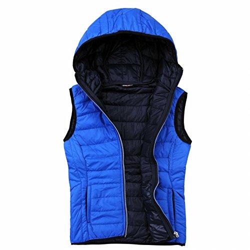 EXUMA Damen Sportbekleidung Aufgeblasen Westen, Royal Blue, L