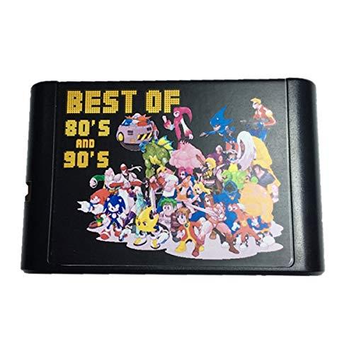 Jhana 196 en 1 colección de juegos calientes para SEGA GENESIS MegaDrive cartucho de juego de 16 bits para PAL y NTSC