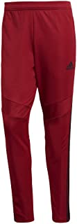 Men's Tiro 19 Training Soccer Pants, Tiro '19 Pants, Active Maroon/Black, Large