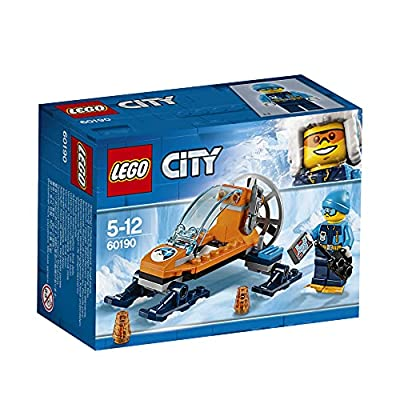 Lego 60190 City Artic Expedition Ice Glider Playset, Toy Explorer Vehicles, Winter Adventure Building Sets for Kids by Lego