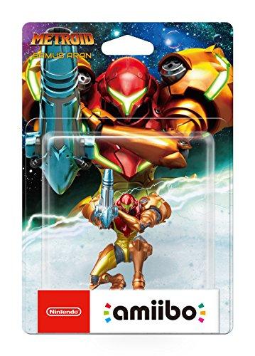 Nintendo - Figura Amiibo Samus Aran, colección Metroid